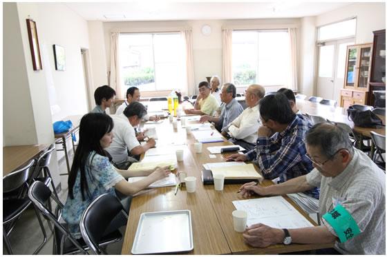北須磨団地自治会の会議風景