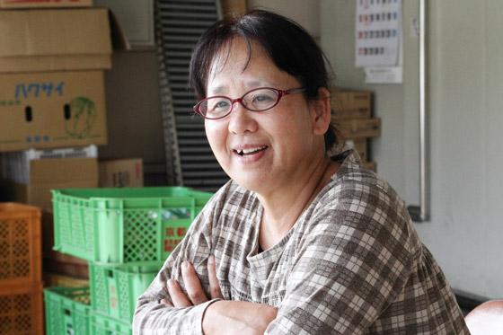 秋山さん横顔