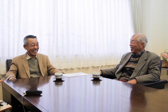 三谷さんと現会長の畑さん