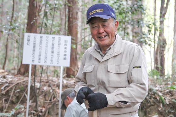大藤山ボランティアグループ 三村桂さん