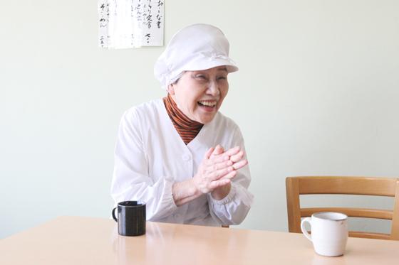 コミュニティキッチン結良里代表森本淑子さん