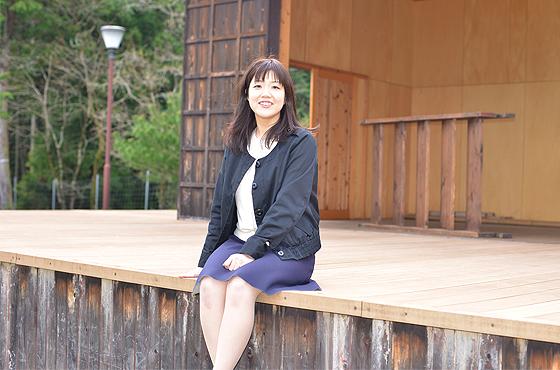 写真:多可町中央公民館 播州歌舞伎クラブ 代表 山根加織さん全身写真