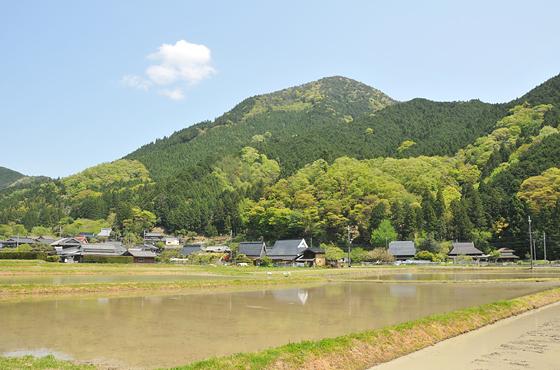 写真:神楽地区の風景