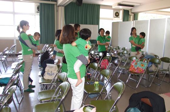 写真:「赤ちゃん先生クラス」