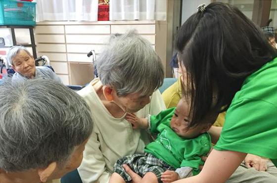 写真:養父市にある高齢者施設 かるべの郷