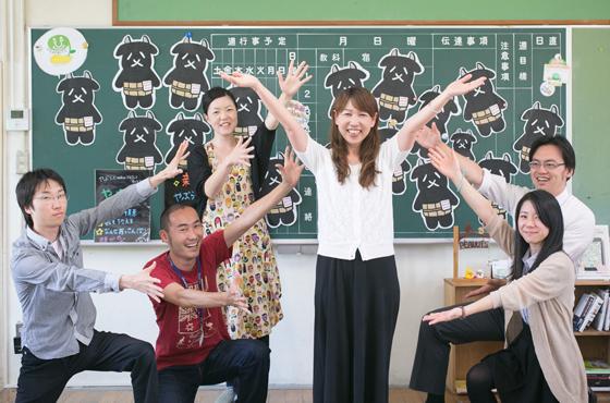写真:株式会社ピーナッツのメンバー