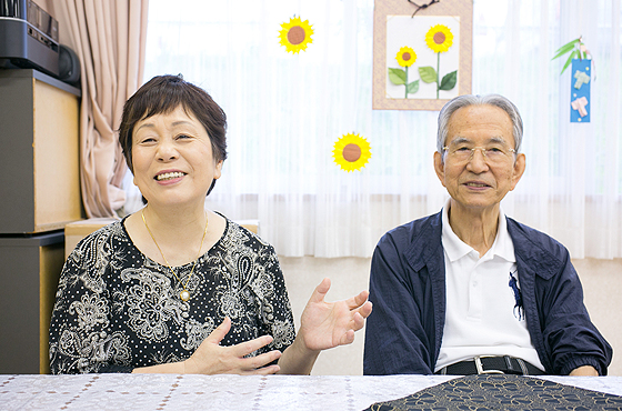 20年前、一緒に民生委員として活動した白波瀬敏夫さん(現・神戸市西区社会福祉協議会理事長)
