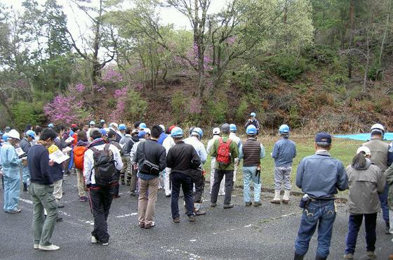グリーンピア三木にある神戸製鋼グループの「コベルコの森」
