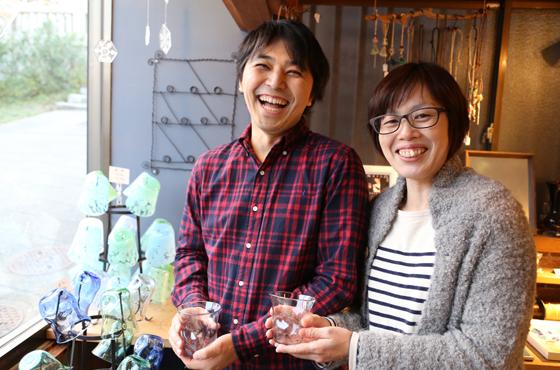 赤穂御崎で旅館を営む今井荘3代目夫妻