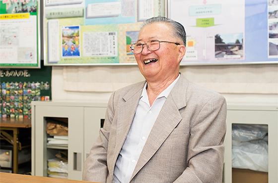 都賀川を守ろう会 会長 岡本博文さん (兵庫県神戸市灘区)