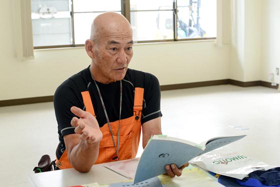 NPO法人菜の花プロジェクトネットワーク 理事長 熊谷清隆さん (兵庫県洲本市)
