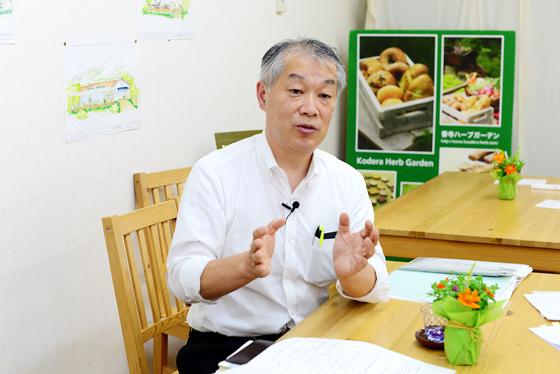 株式会社香寺ハーブ・ガーデン 代表取締役社長 福岡讓一さん (兵庫県姫路市)