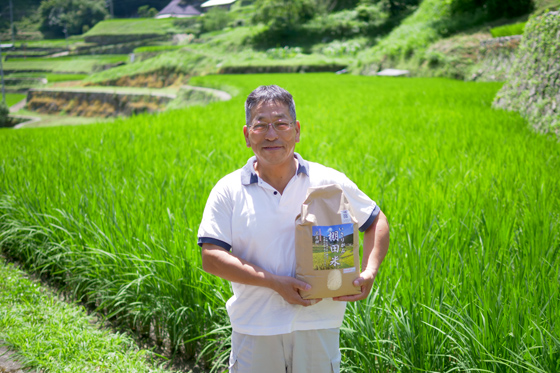 多くのリピーターに愛される岩座神のおいしいお米