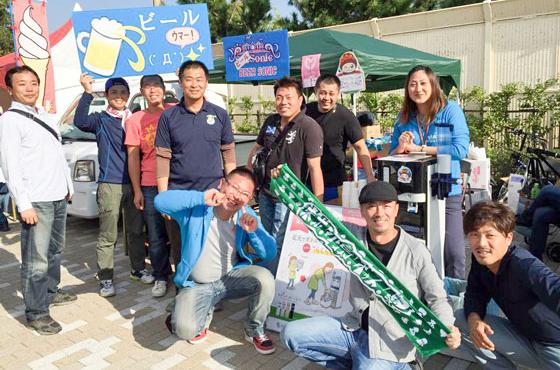 あらい浜風公園の有効活用を考え、行政・高砂青年会議所・地元有志らで「高砂音楽祭」を開催