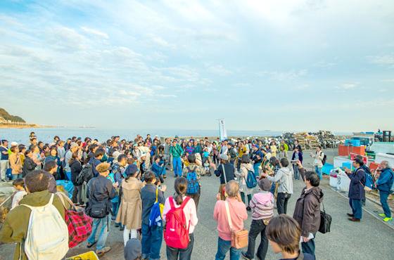 コンサート・展示・ワークショップなど、平成26年から継続している塩屋の文化祭「しおさい」
