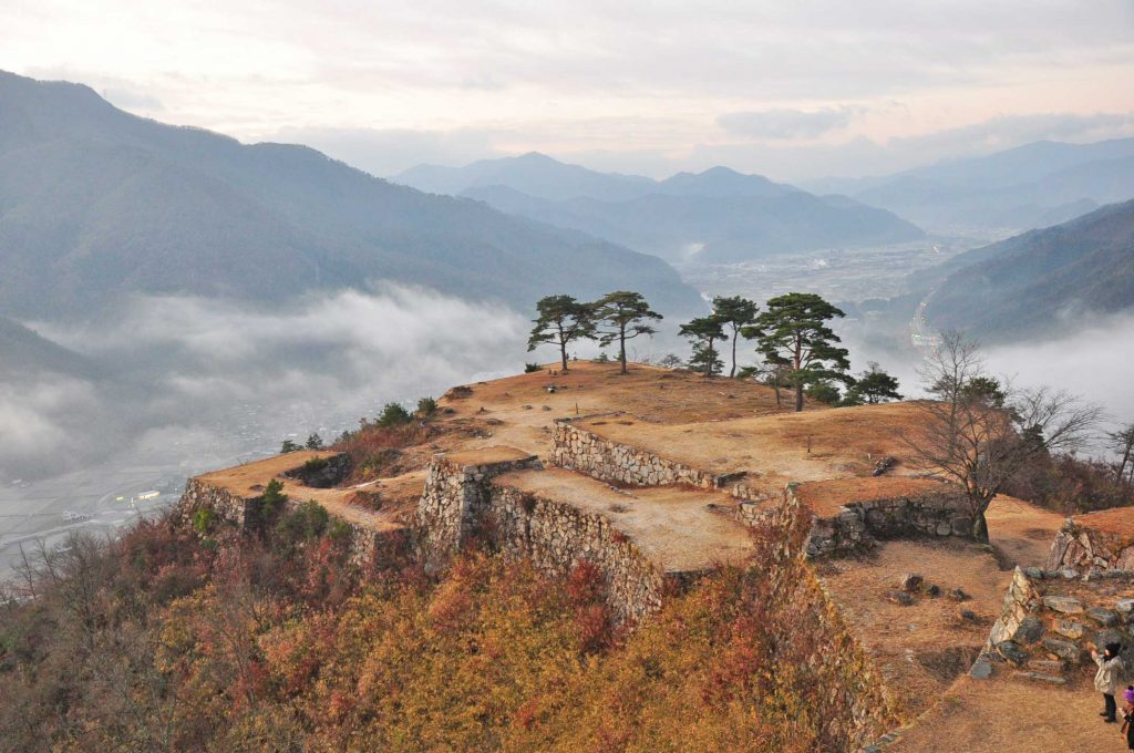 本岡さんがお城を巡るきっかけとなった天空の城 竹田城