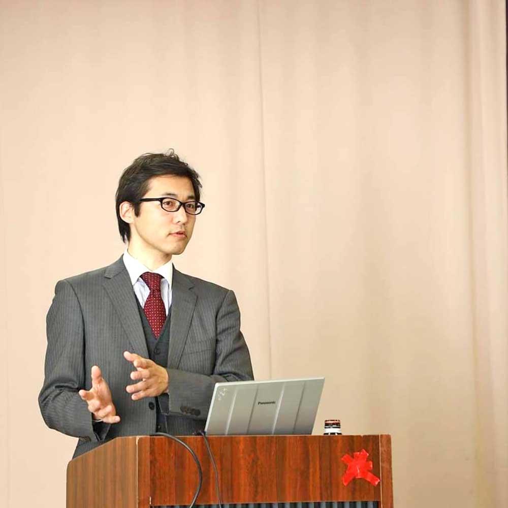 宍粟市のセミナーで登壇された本岡さん