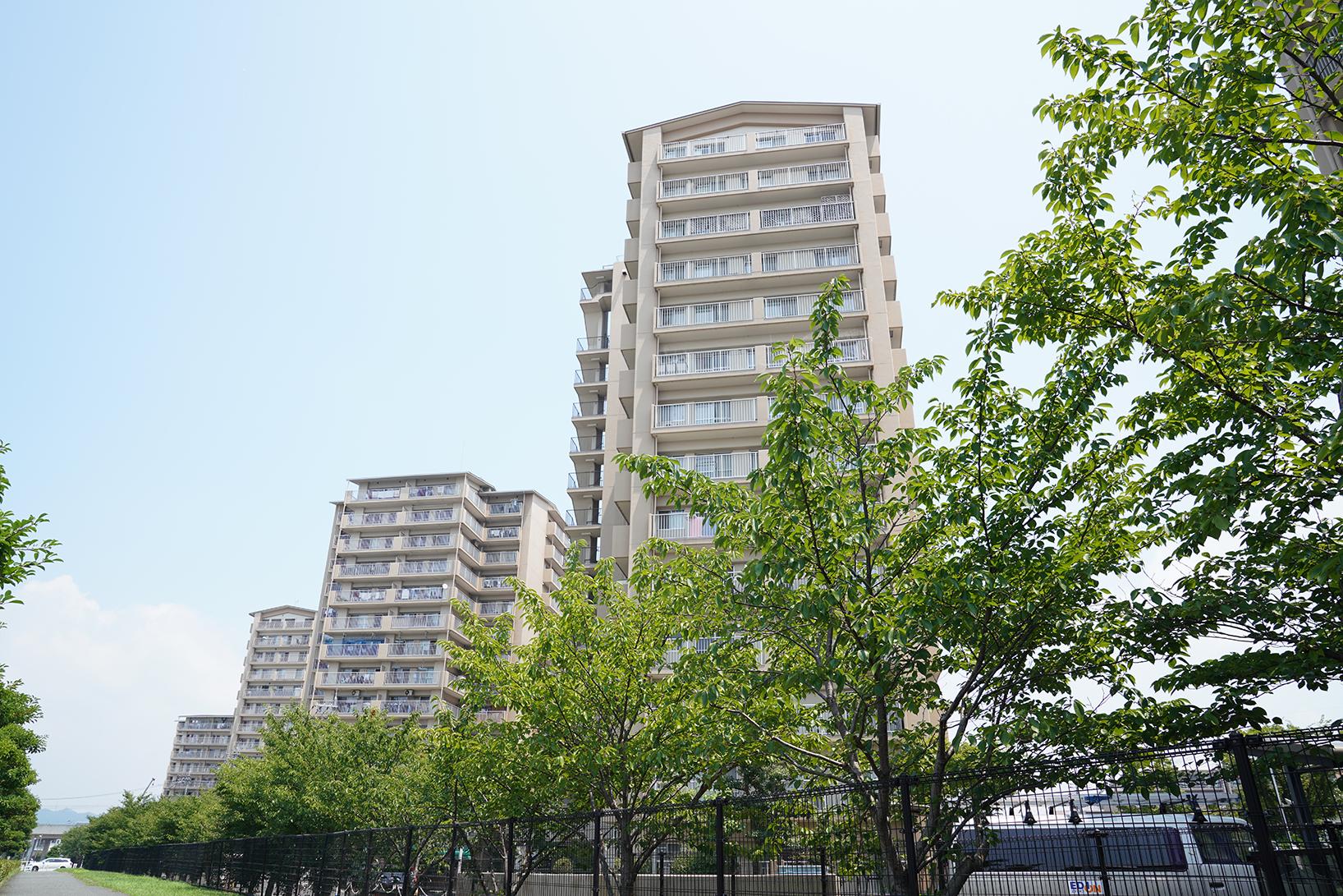 およそ1,800人が暮らす大規模マンション群「加古川グリーンシティ」