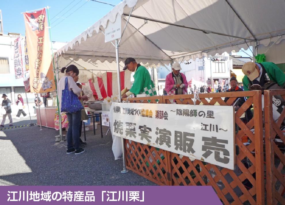 江川地域の特産品「江川栗」