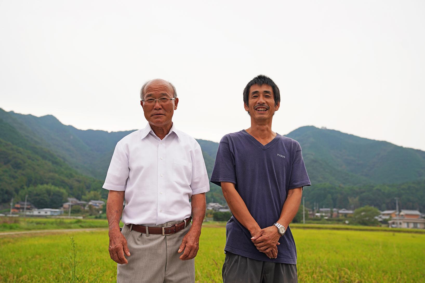 株式会社ささ営農の未来を担う中心的存在、専務取締役  竹北貢さん。