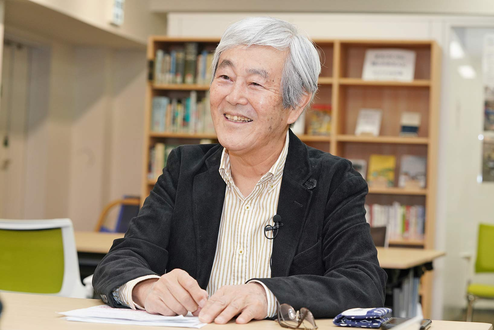 野崎隆一さん