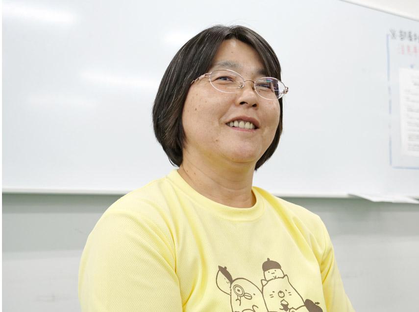 大西 登司恵さん