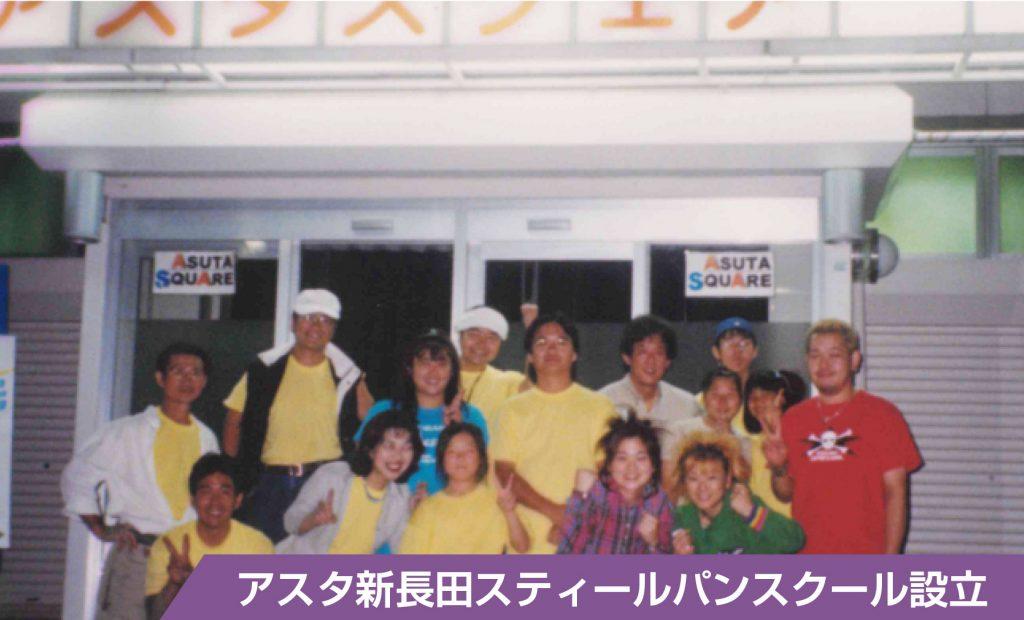 アスタ新長田スティールパンスクール設立